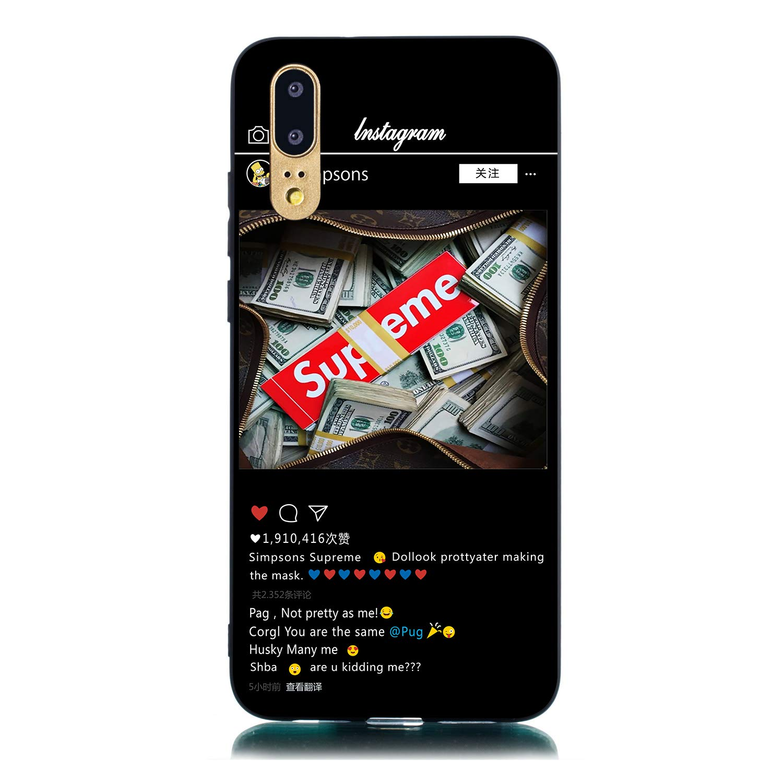 Elegante 3D Morbida Silicone per Samsung A40,Trasparente Chiaro Cristallo Slim Flessibile Creativo Flower Cartoon Sottile in Soft Gomma TPU Colore Premium Protettiva Custodia