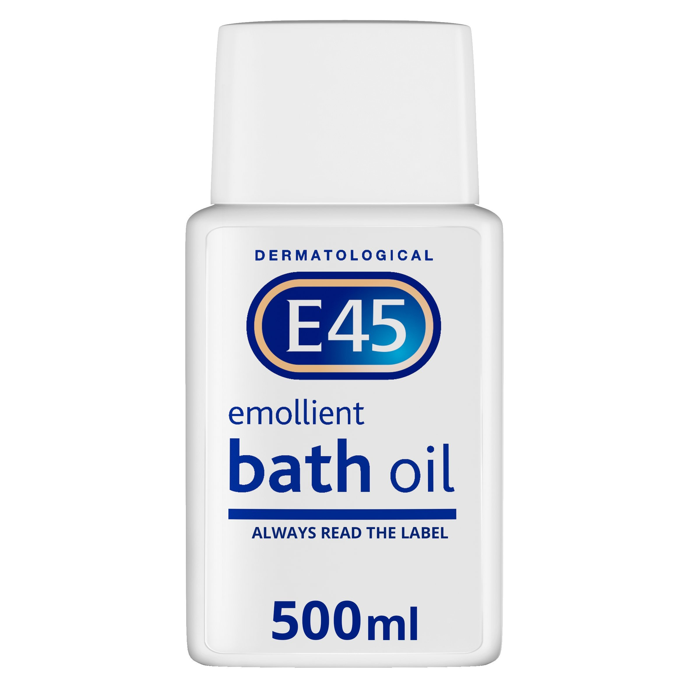 E45 Dermatological Emollient Bath Oil, 500 ml
