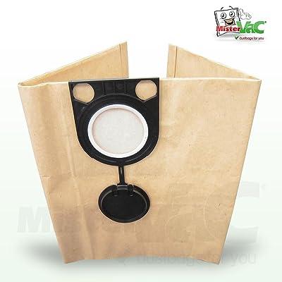 10 x Sac aspirateur compatible metabo 602012000 aS 20 l