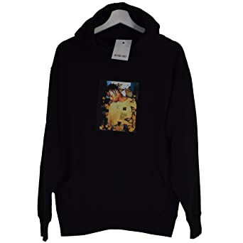 ece80667d838 Actual Fact Travis Scott Butterfly Effect Black Hoodie Hooded Sweatshirt  Top (Small-XXLarge): Amazon.co.uk: Clothing