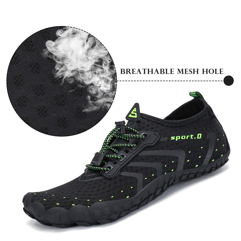 SAGUARO Mens Womens Minimalist Barefoot Gym Shoes Trail Running