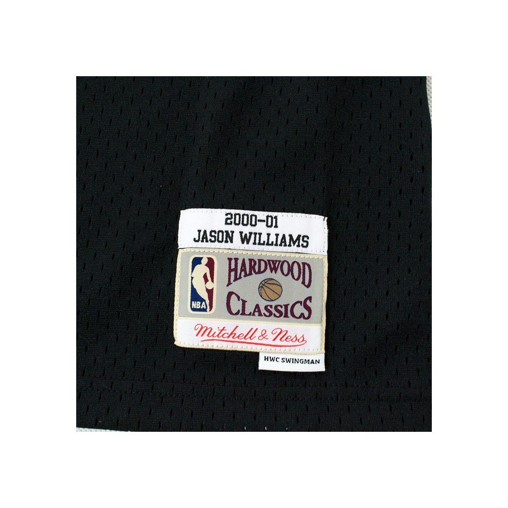 Mitchell & Ness Jason Williams # 55 Sacramento Kings 2000 - 01 Swingman NBA Camiseta Negro, Large: Amazon.es: Deportes y aire libre