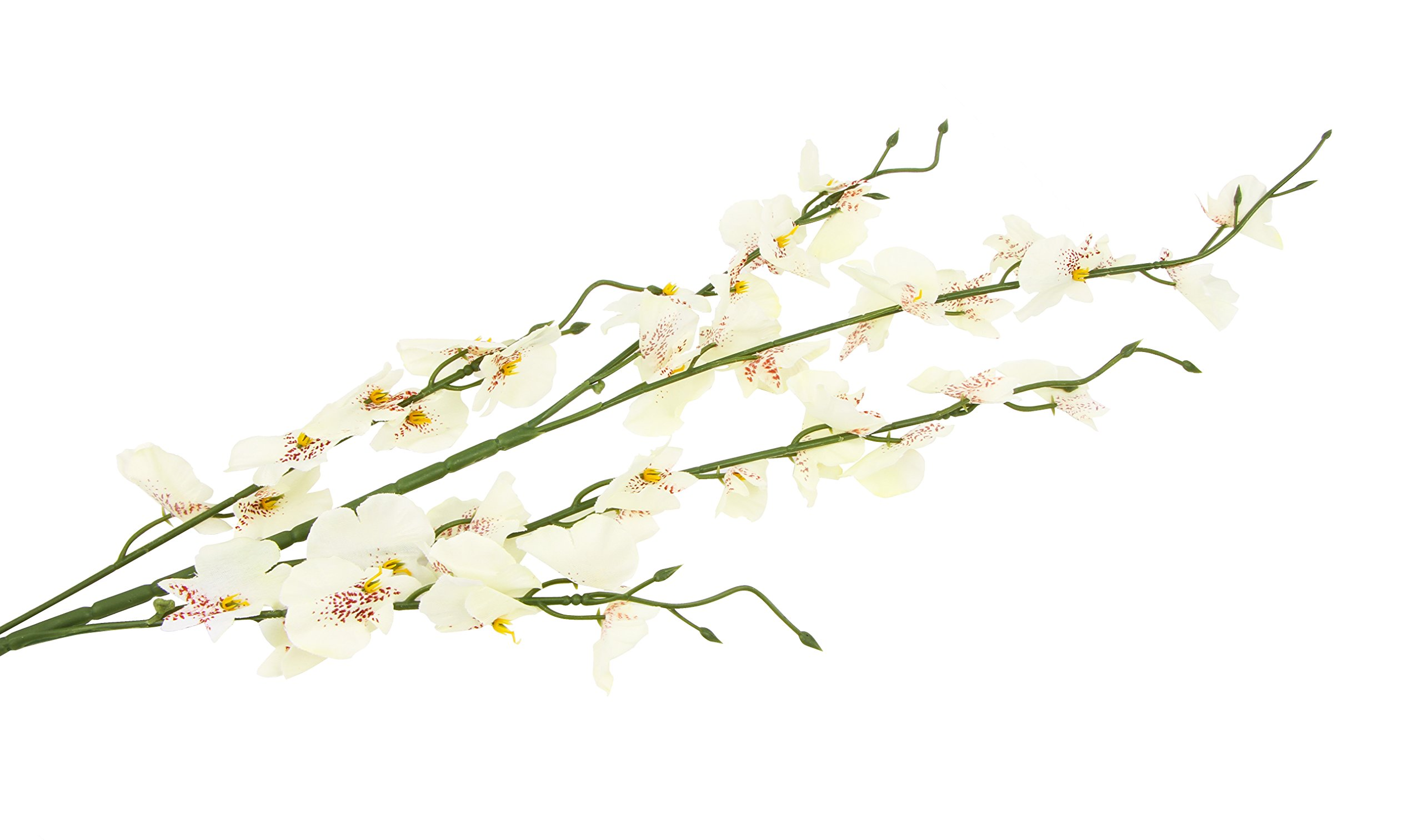 TYEERDEC-Artificial-Orchids-Flowers-10-Pcs-Silk-Fake-Orchids-Flowers-in-Bulk-Orquideas-Flowers-Artificial-for-Indoor-Outdoor-Wedding-Home-Office-Decoration-Festive-Furnishing-Milky-White