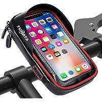 """TURATA Fahrrad Lenkertasche Wasserdicht Rahmentaschen Multifunktional Motorrad Handyhalterung für 6"""" Handy, Personalausweis, Bankkarte, Kopfhörer"""