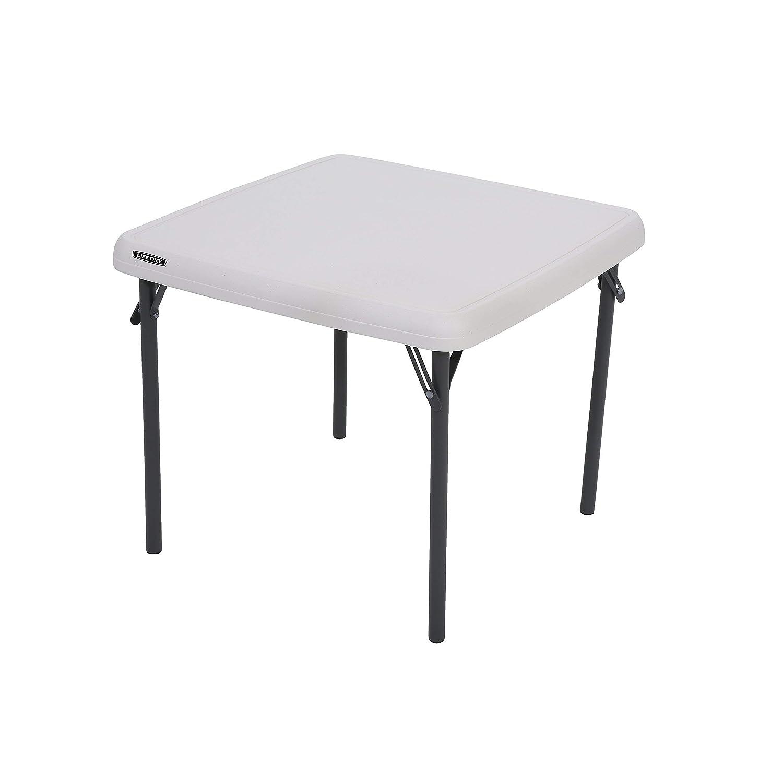 Lifetime 80425 Kids Folding Table, Almond, 24 Renewed