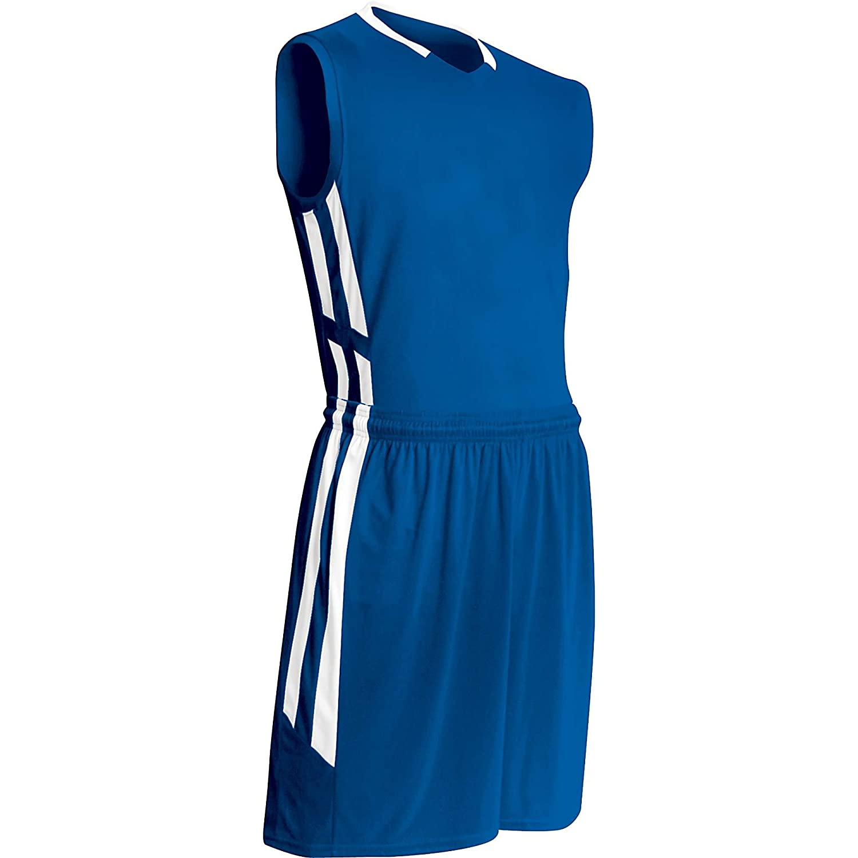 Champro大人用マッスルDriギアバスケットボールジャージー、ロイヤルblue|white、XL B00GMIXHZY