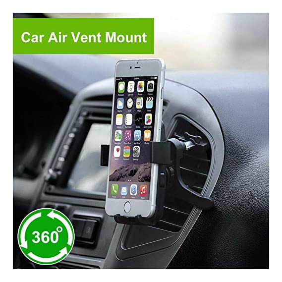 1x 360°Auto Car Air Vent Mount Cradle Holder Navigation Stand For Cell Phone GPS
