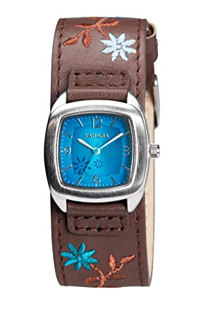 amazon dp strap sekonda watch brown co watches ladies editions