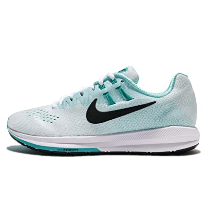 competitive price 98691 504d5 Amazon.com: Nike Women's Wmns Air Zoom Structure 20, WHITE ...