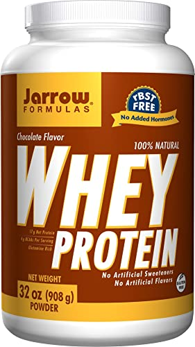 Jarrow Formulas Whey Protein Chocolate 2 lbs 32 oz 908 g