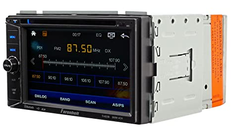 Amazon.com: TI-623B - Farenheit in-Dash 2-DIN 6.2