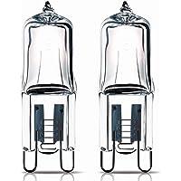 2x lámpara cápsula de horno halógeno 40W G9para