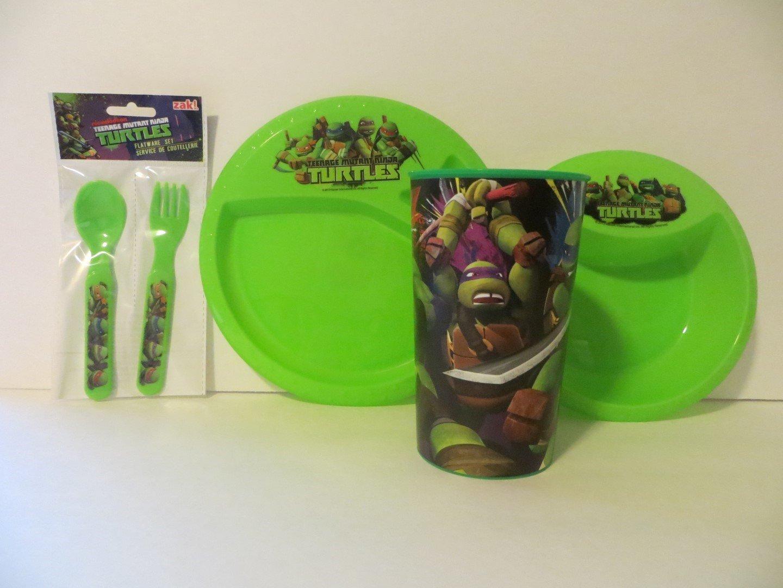 Teenage Mutant Ninja Turtle Meal Time Set 5 Pieces - BPA ...