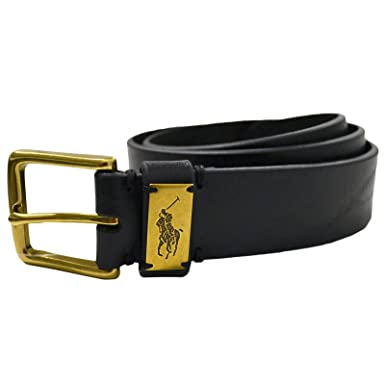 Polo Ralph Lauren Ceinture - Homme noir Schwartz Medium  Amazon.fr ... 5aabfbd7bb0