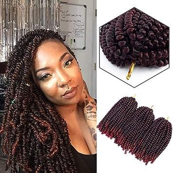 Amazon Jarin Hair 3 Piecespack 8 Inch Spring Twist Hair