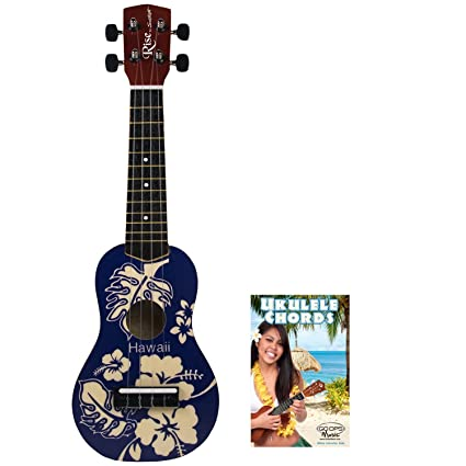 Amazon Sawtooth St Rise Uke Blh Ukulele Blue Hawaii Musical