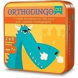 Aritma - OrthoDingo - Jeux de cartes, Orthographe, 7 ans