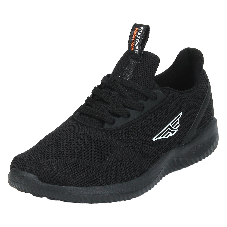 Buy Red Tape Men's Black Running Shoes