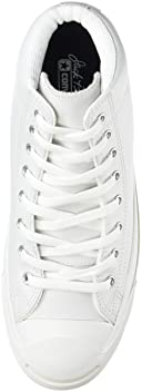 Jack Purcell Leather Mid: White