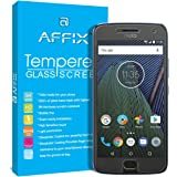 Affix Tempered Glass With Free Cleaning And Application Kit For Motorola Moto G5 Plus ,Transparent