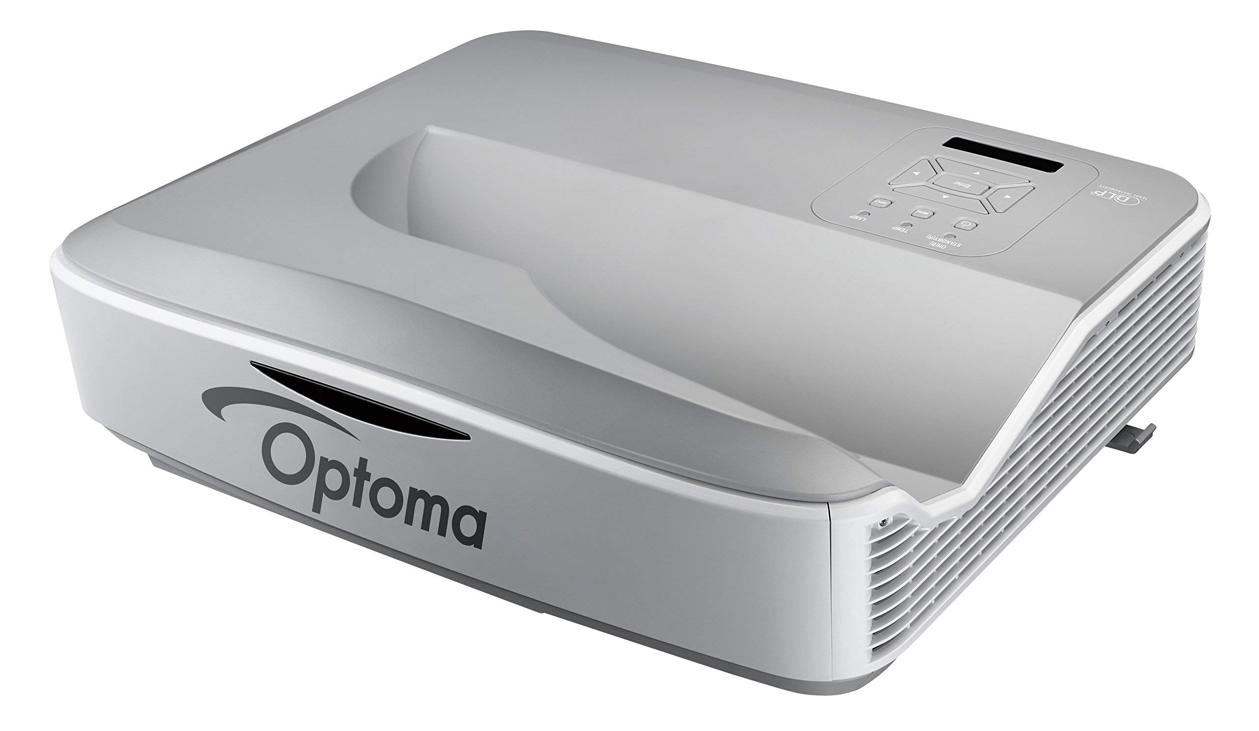 Optoma ZW300UST WXGA 3200 Lumens 3D DLP Ultra Short Throw Laser Projector (Renewed) by Optoma (Image #2)