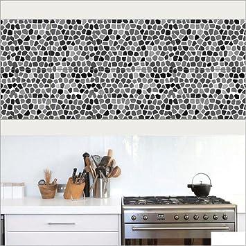 20*100cm*2pcs Stück Mediterraner Stil Fliesen Aufkleber Sticker Folie  Selbstklebend Für Küche Und