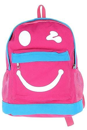 82f6eab539 Image Unavailable. Image not available for. Colour  La Vogue Children Canvas  School Bag ...