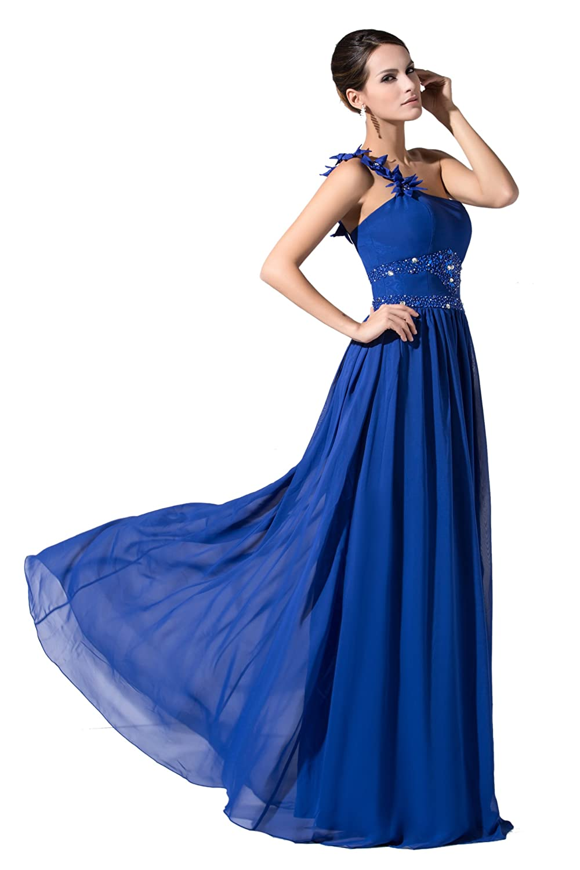 Dressy Star largo Royal Azul One de schoulter Fiesta Vestido azul real (56W) EU: Amazon.es: Ropa y accesorios