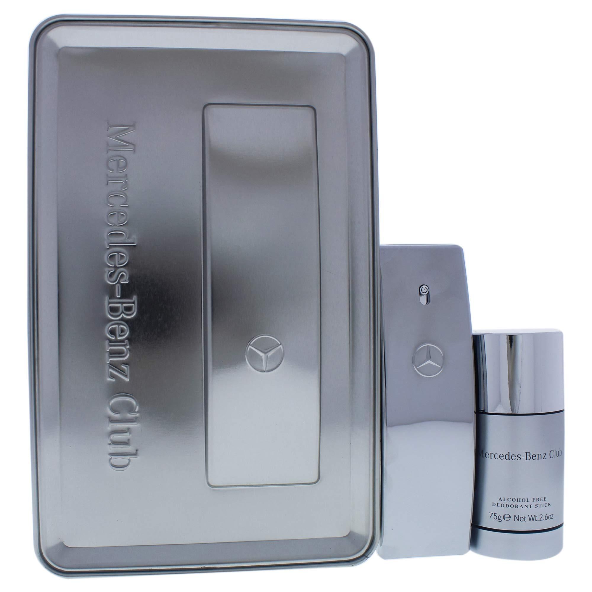 Mercedes-benz Mercedes-benz Club By Mercedes-benz for Men - 2 Pc Gift Set 1.7oz Edt Spray, 2.6oz Alcohol-free Deodorant Stick, 2count