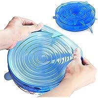 Tapas flexibles para guardar comida UChef, Varios tamaños