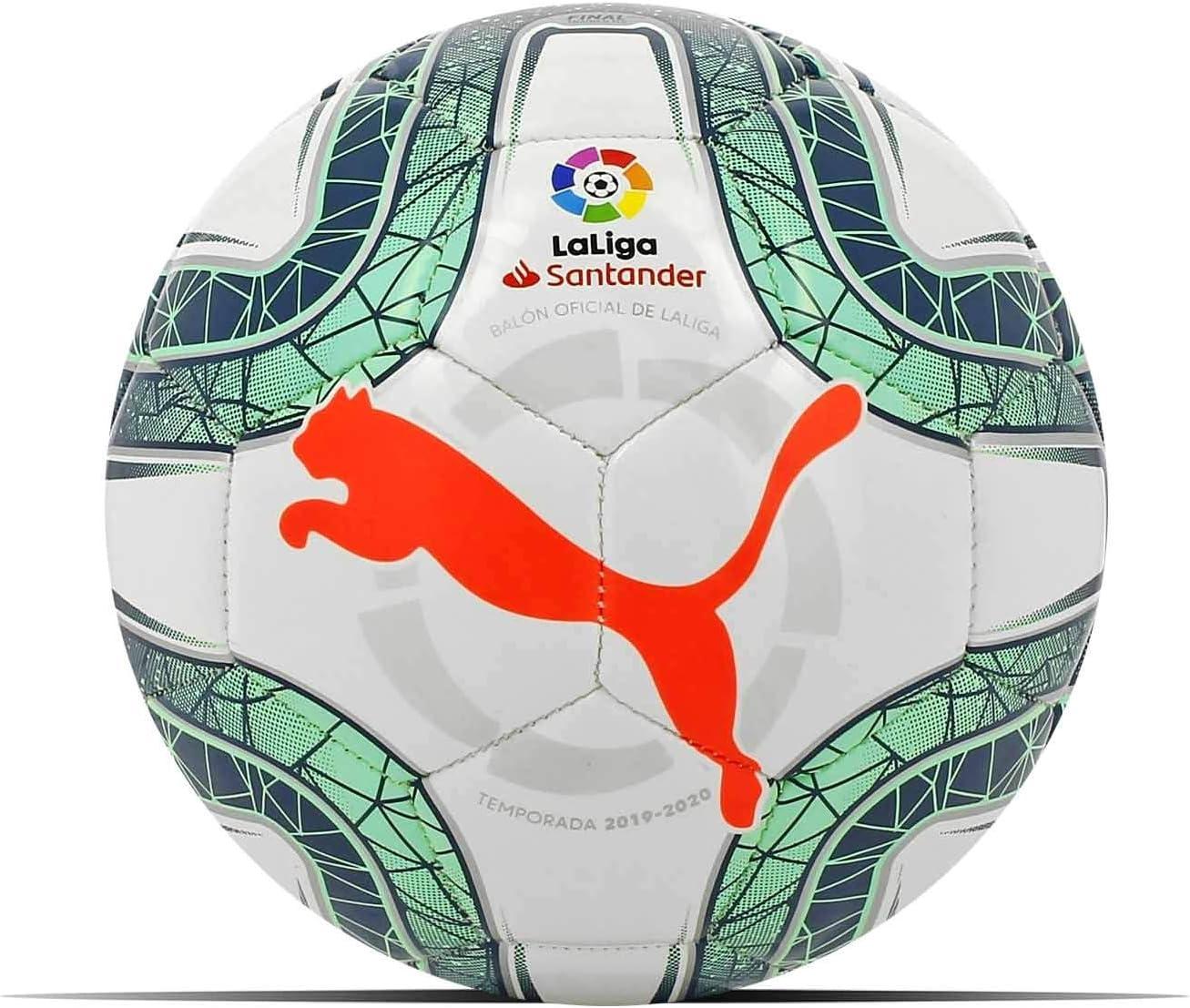 Puma Balón Fútbol Liga 2019-2020 Mini, Color Blanco: Amazon.es ...