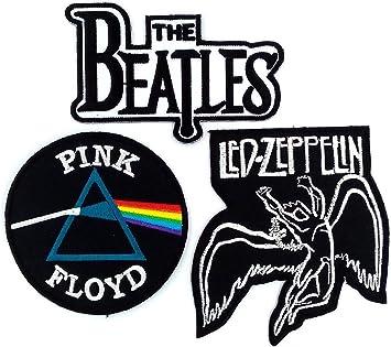 Amazon.com: Parches de bandas, Pink Floyd, The Beatles, Led ...