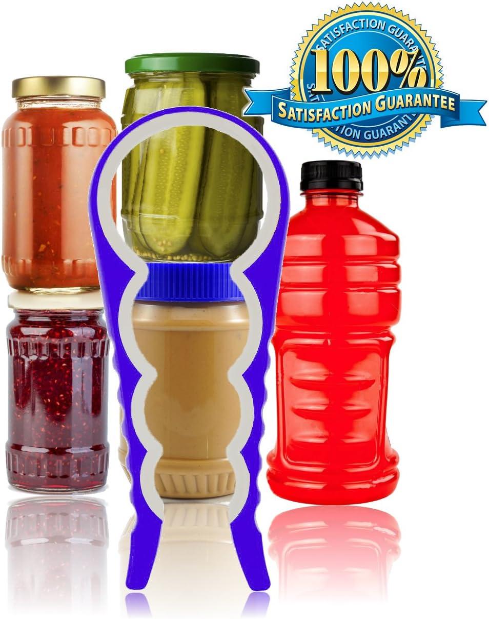 Multi Bocal//ouvre-bouteille 3 Taille en caoutchouc peut Cap Grip Twist Remover Cuisine Outil