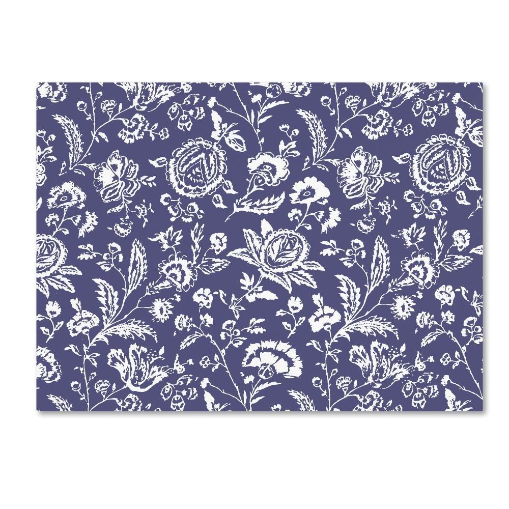 Trademark Fine Art Toile Fabrics X by Color Bakery Canvas Wall Art 24x32