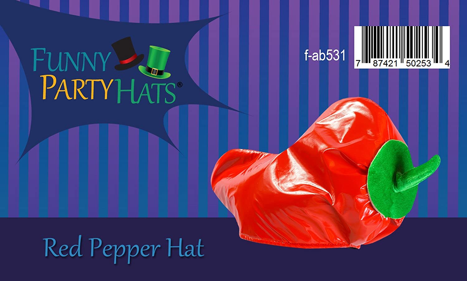 Red Pepper Hat Adults Cinco De Mayo Party Hats Novelty Hats By