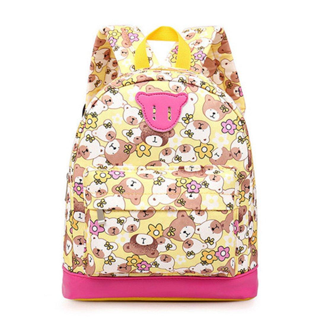 Amazon.com: Cartoon Bear Kid Backpack For Girl School Bag Kindergarten Baby Student Boy Cute Book Mochila Escolar blue: Sports & Outdoors