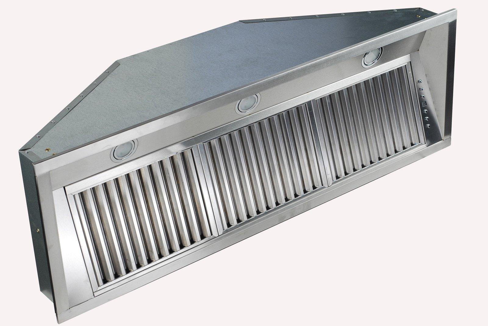 Z Line 695-34 Stainless Steel Range Hood Insert, 34-Inch