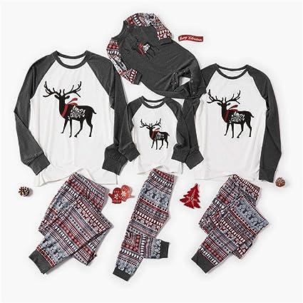 Beline Family Christmas Matching Pajamas Set Xmas Adult Kids ...