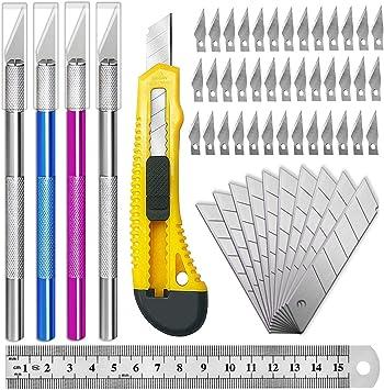 Amazon.com: Exacto - Cuchillo de cuchillo de precisión para ...