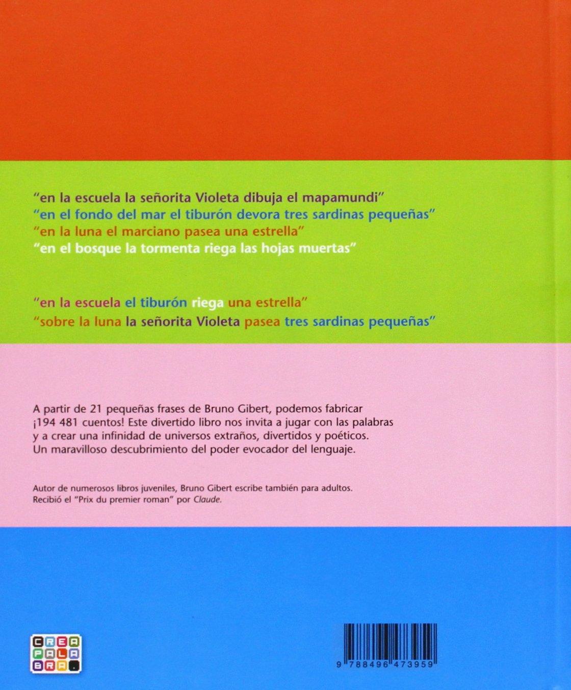 Mi pequeña fábrica de cuentos (Spanish Edition): Bruno Gibert: 9788496473959: Amazon.com: Books
