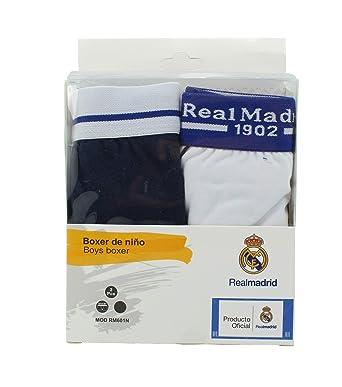 0367f77c5c3f0 Boxer Infantil - Real Madrid - Producto Oficial - Set 2 Pares - RM601N (10