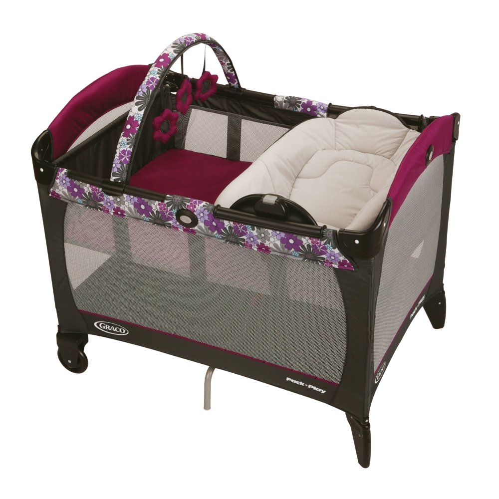 Free Graco Pack `N Play Playard with Reversible Napper and Changer New Nyssa