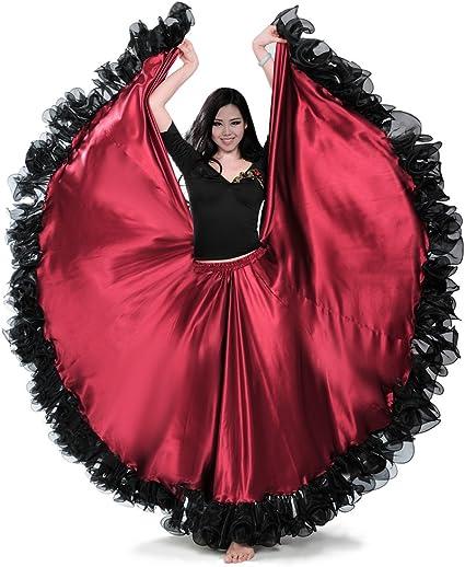 Royal smeela ATS Tribal danza del vientre 25 patio falda de la ...