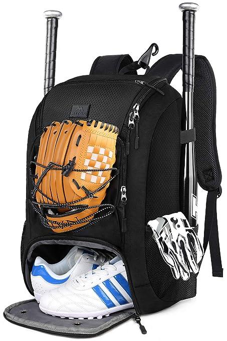 Amazon.com: MATEIN Mochila de béisbol, bolsa de bate de ...