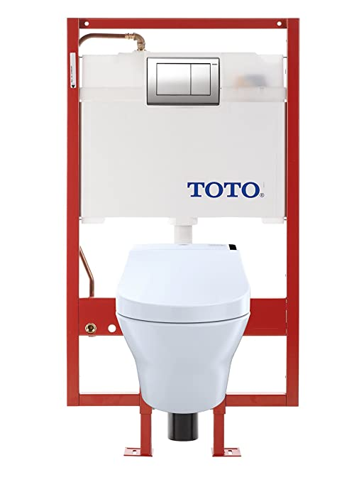Marvelous Toto Cwt4370247Mfg 401 Mh Connect Wall Hung Toilet And Pabps2019 Chair Design Images Pabps2019Com