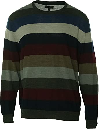 ouxiuli Mens Winter Crewneck Knit Long Sleeve Pullover Light Sweater