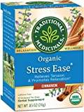 Traditional Medicinals Organic Stress Ease Cinnamon Relaxation Tea (Pack of 6), Relieves Stress, Tension and…