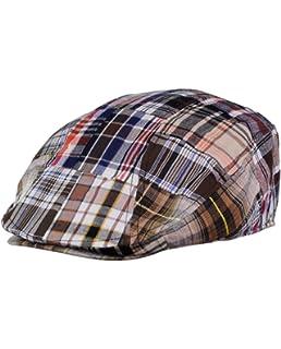 e6d723398 Capas Ivy Madras Patchwork Cap at Amazon Men's Clothing store