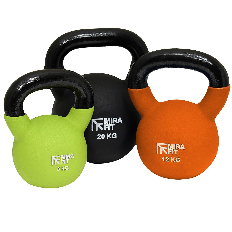 MiraFit Soft Touch Cast Iron Kettlebell Weight