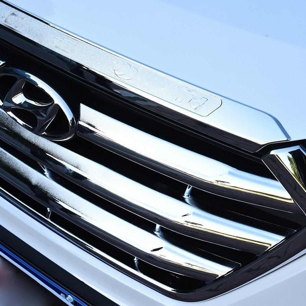 auto paraurti per auto accessori auto materiale ABS placcatura cromato Trim argento BeHave JG71126/W auto paraurti anteriore motore copertura Trim decorazione di accessori